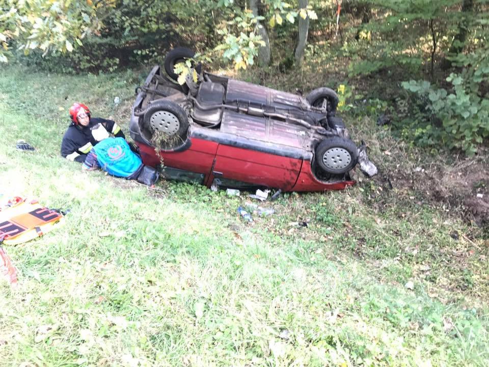 wypadek, zabił pasażera