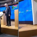 Współpracownica obwąchuje krocze Junckera? Ten filmik podbija sieć! [VIDEO]