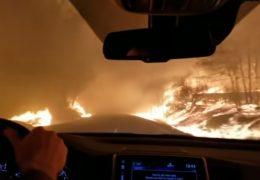 pożar kalifornia morze ognia