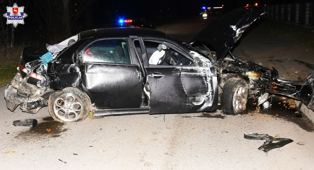 wypadek samochodu z 5-latkiem w środku