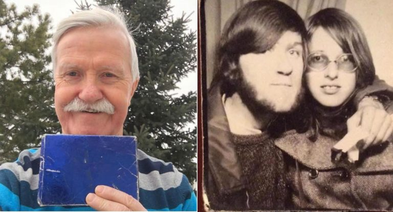 Po 47 latach otworzył prezent od byłej dziewczyny. Tego zupełnie się nie spodziewał!