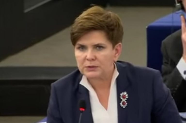 Beata Szydło w Brukseli nawrzeszczała na …