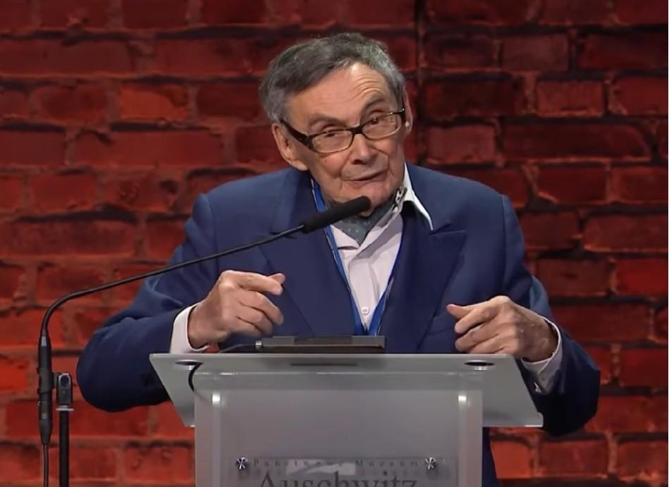 Marian Turski były więzień Auschwitz