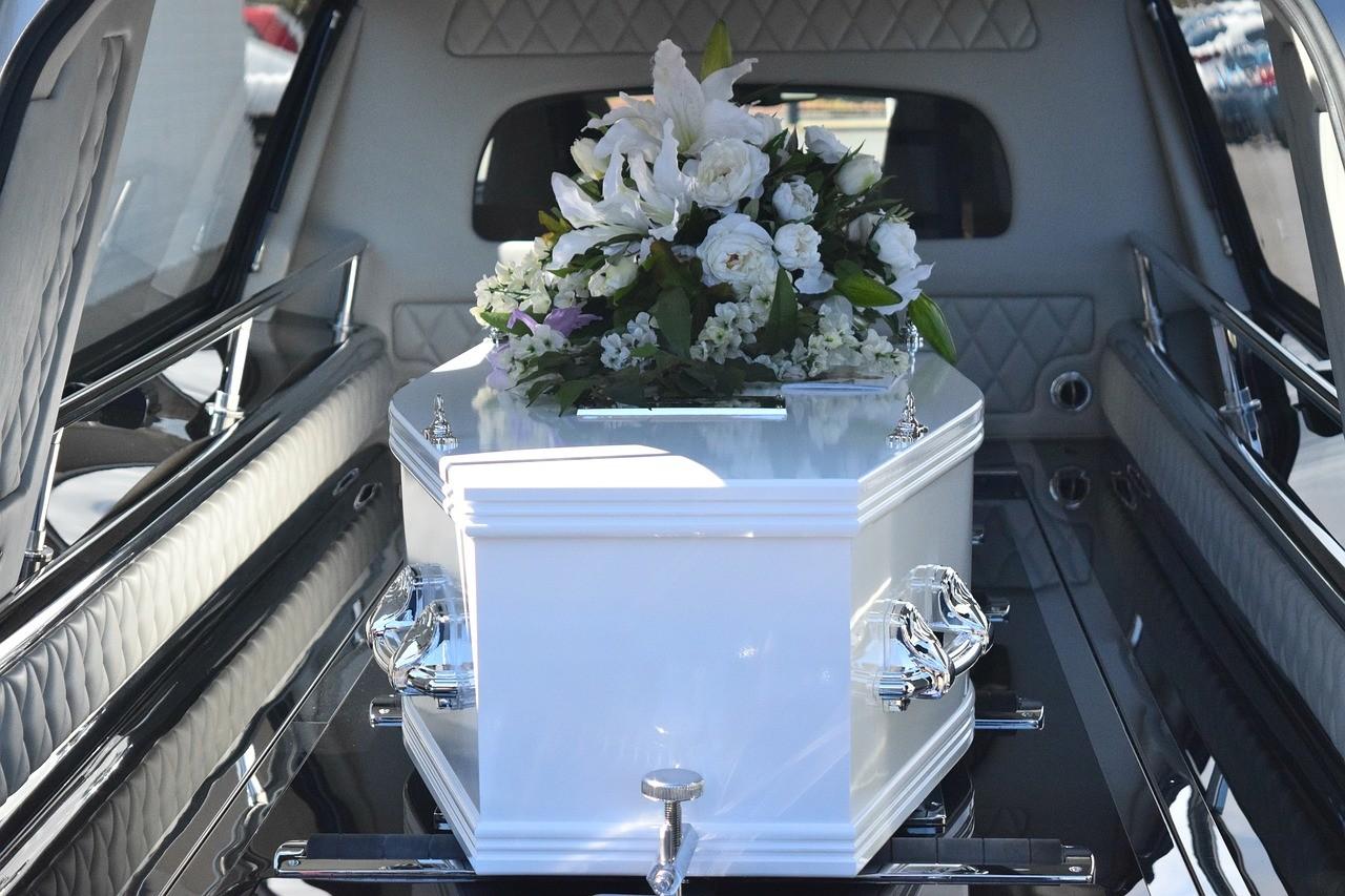 czasie pogrzebu
