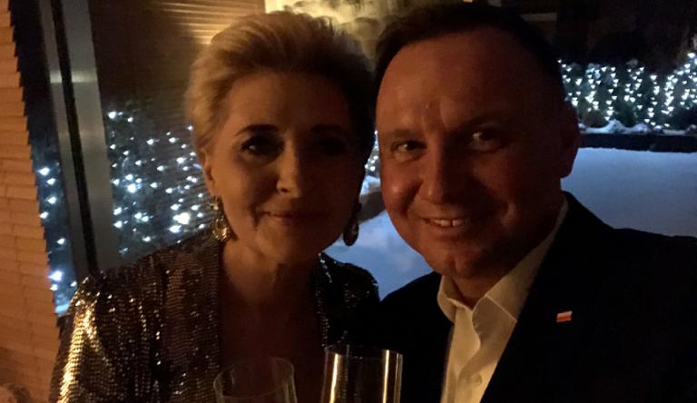 """Andrzej DUDA z żoną ZAATAKOWANI w Sylwestra: """"Won!"""""""