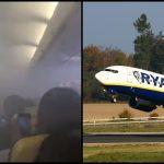 PRZERAŻAJĄCE chwile na pokładzie Ryanaira. Pasażerowie płakali i krzyczeli
