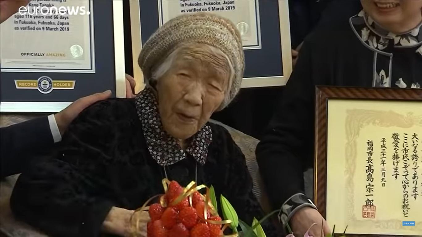 najstarszą osobą