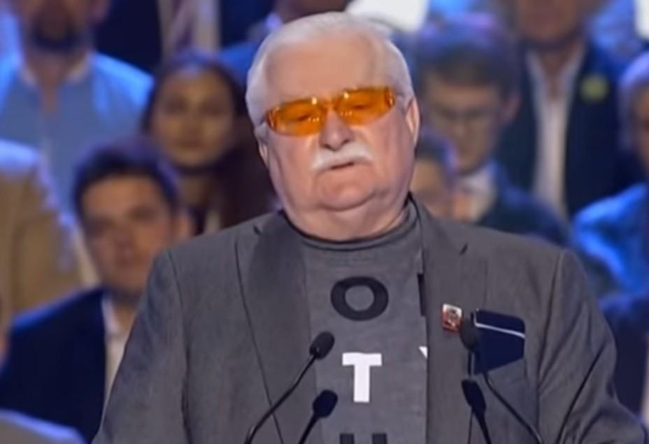 Lech Wałęsa apeluje o powstrzymanie PiS