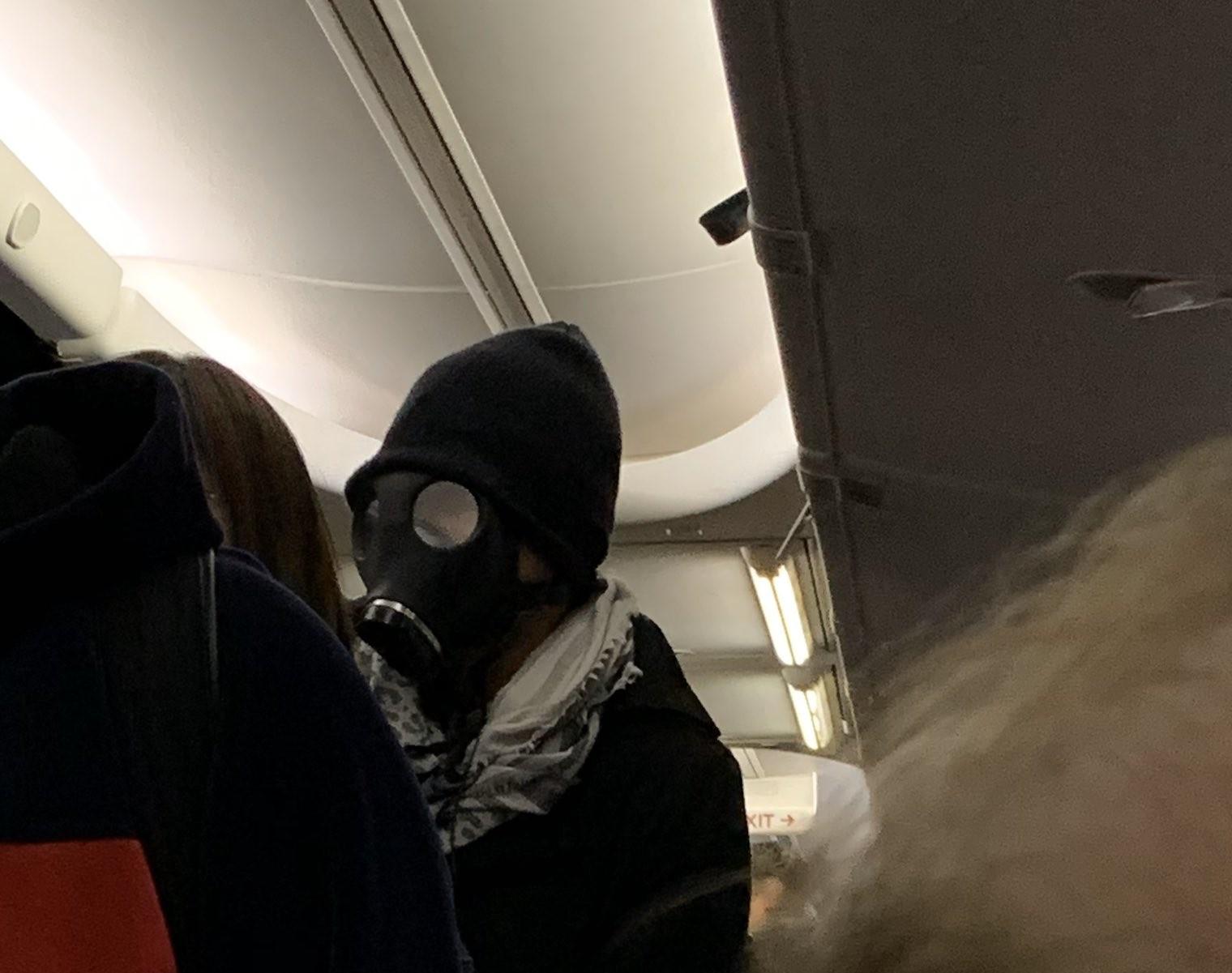 maskę gazową