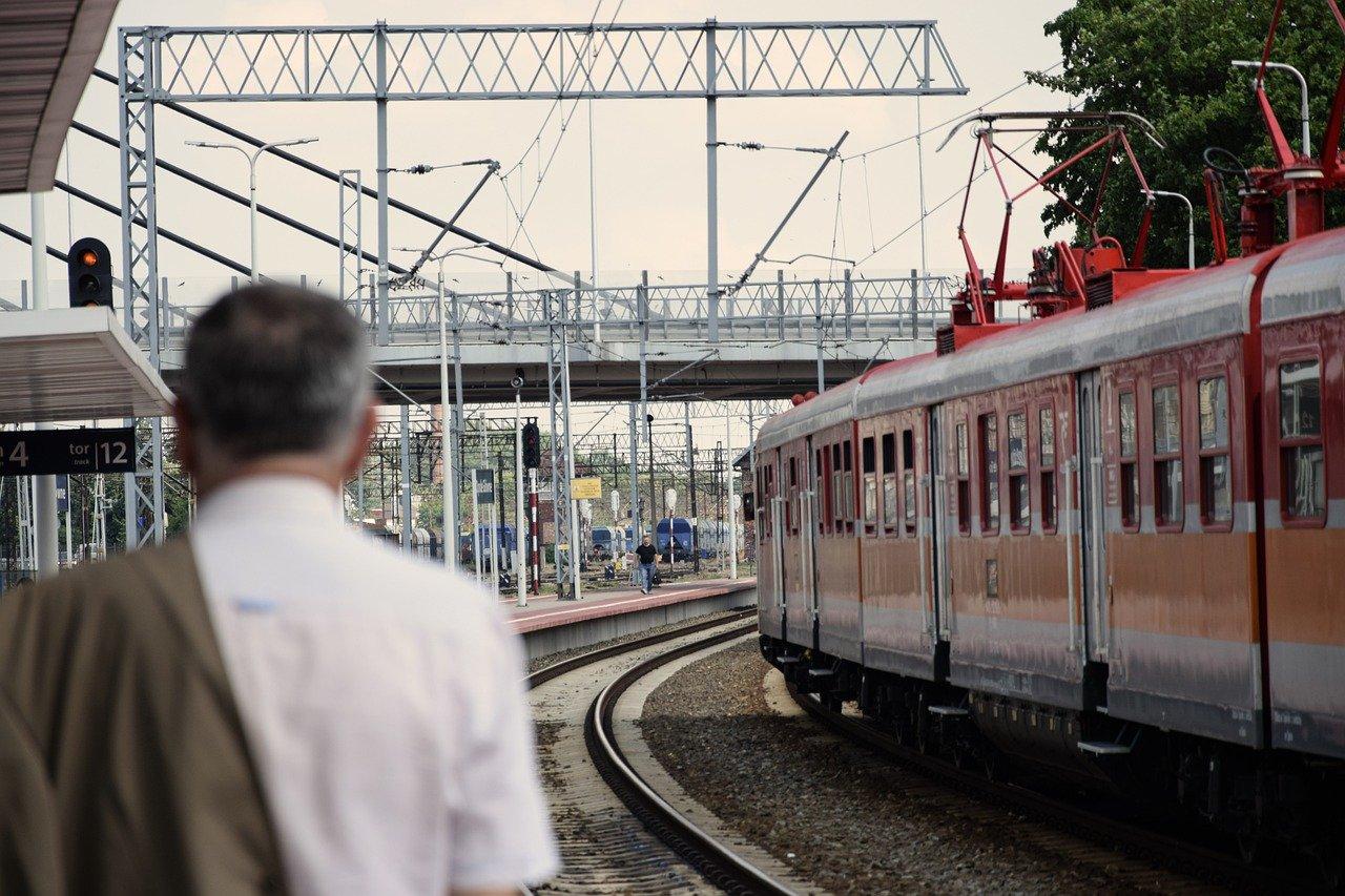 przejeździe kolejowym