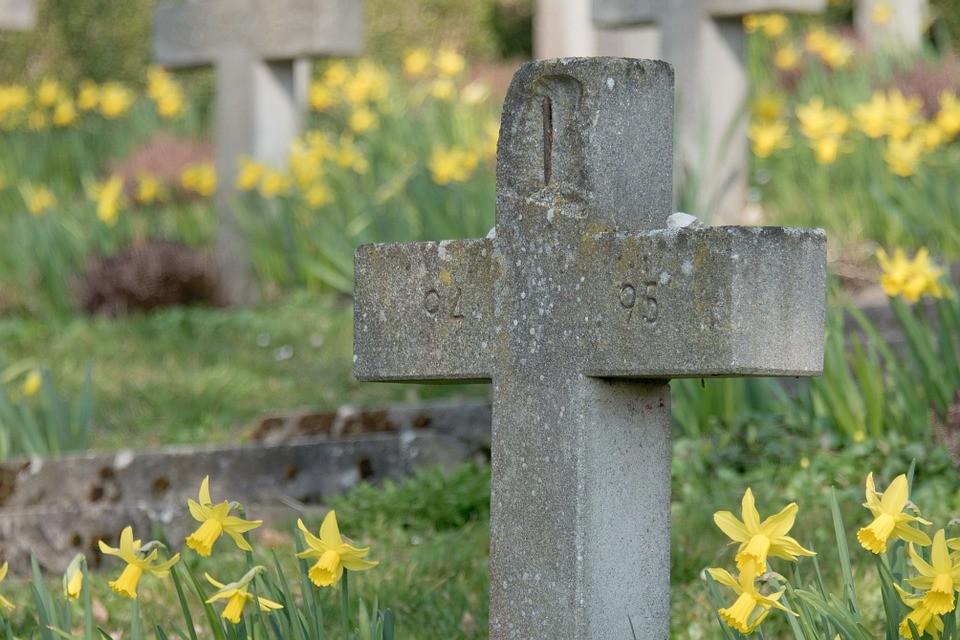 pogrzeb, cmentarz, krzyż