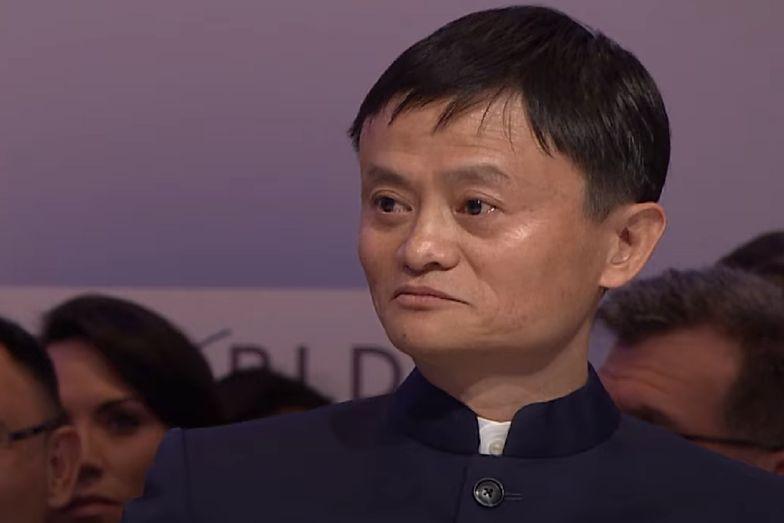 chiński miliarder Jack Ma