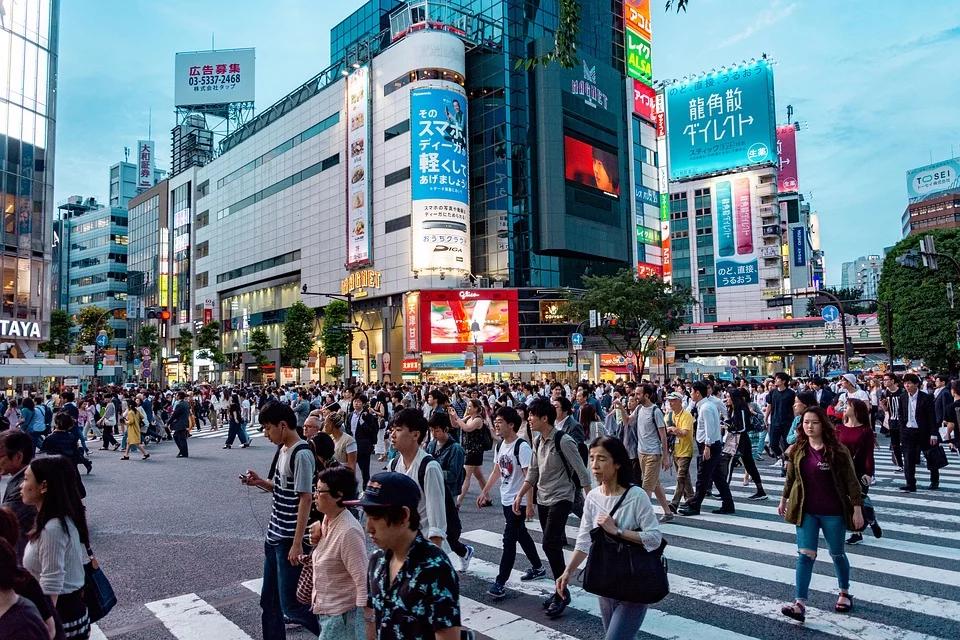 zachorowania w japonii