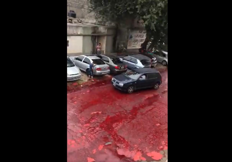 rzeka krwi
