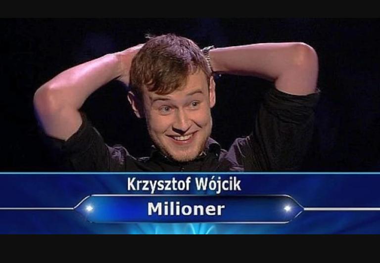 """Wygrał główną nagrodę w """"Milionerach""""! Zobacz, co zrobił z kasą!"""