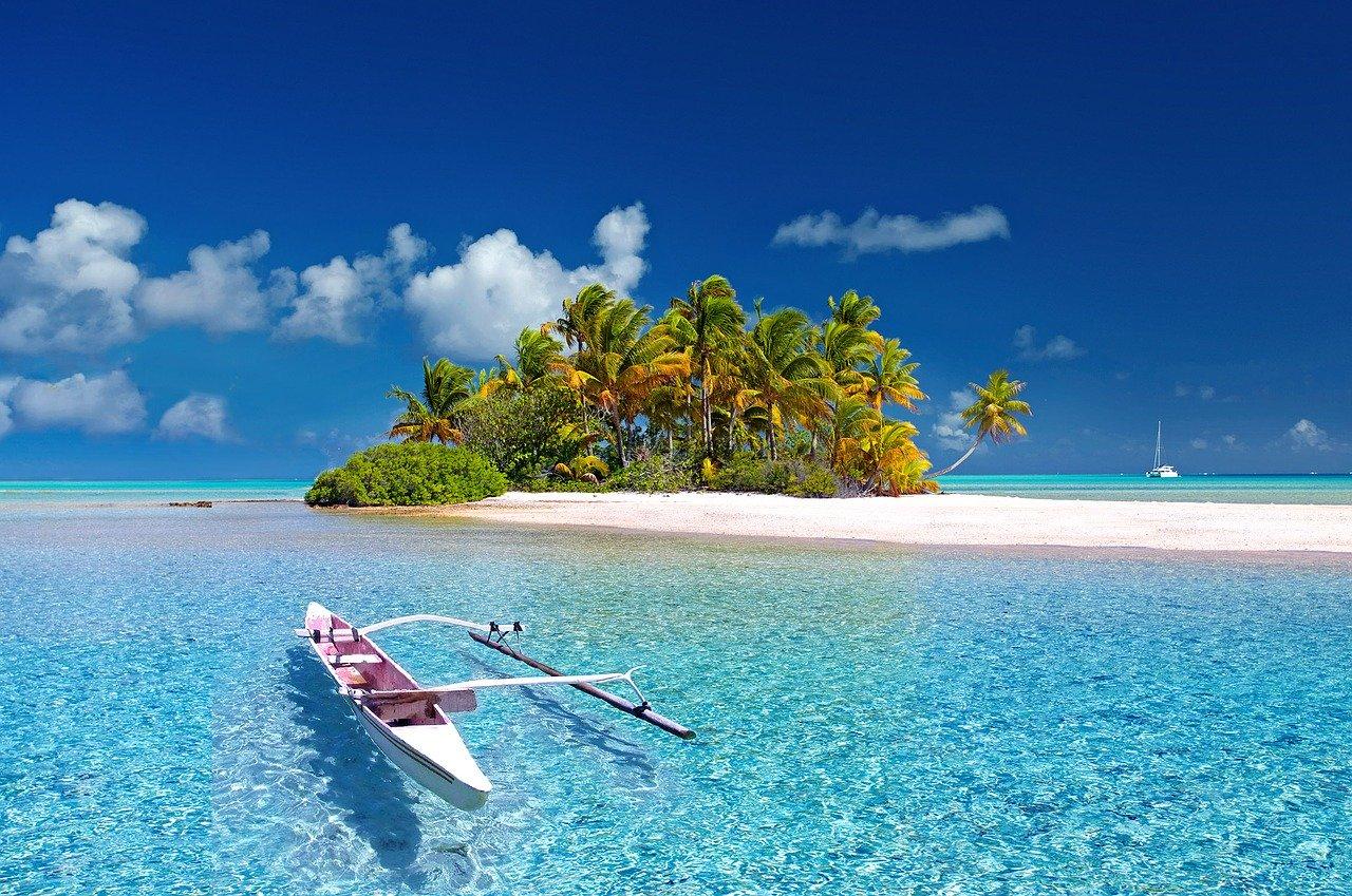 bezludną wyspę