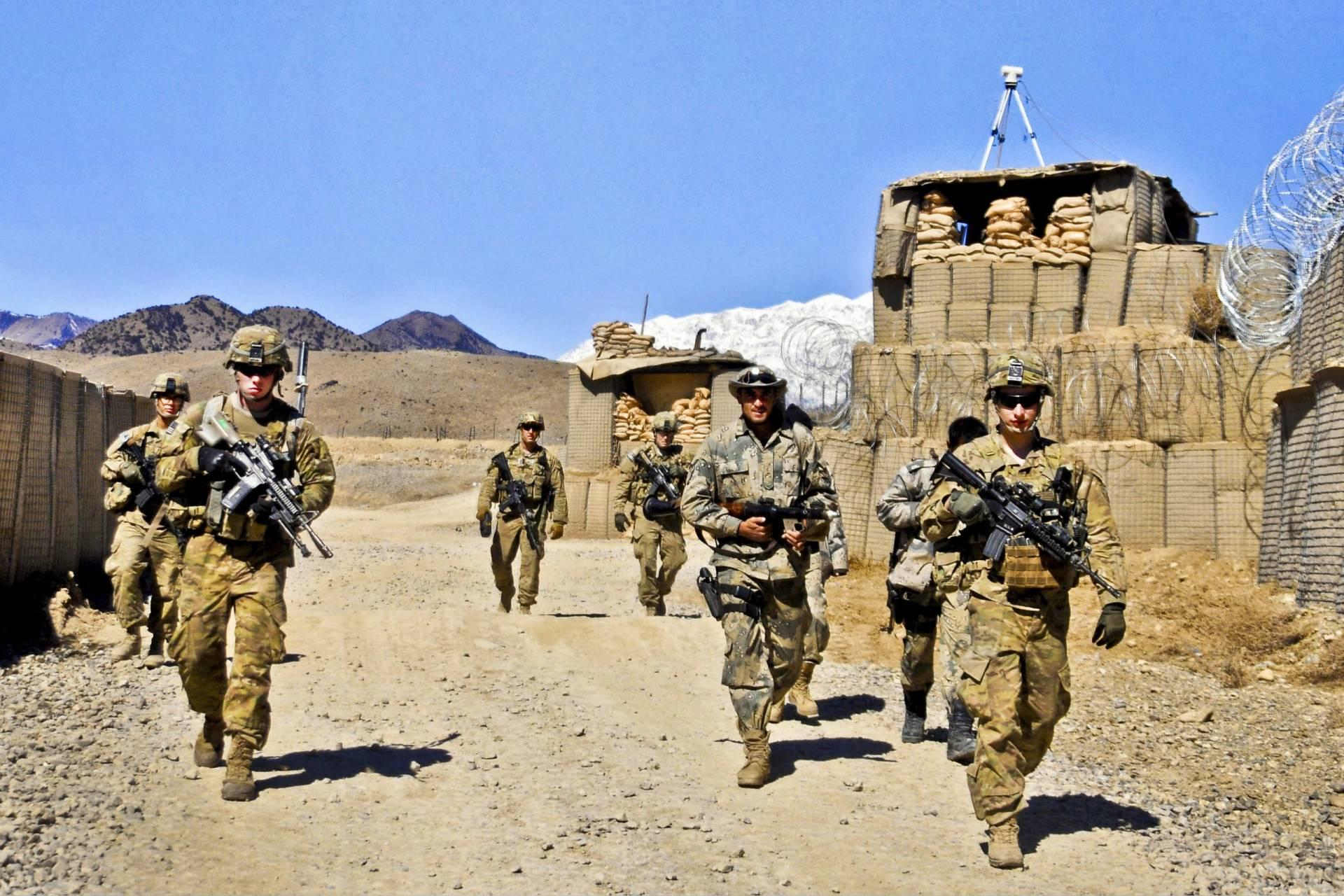 wojny, wojna, afganistan, usa