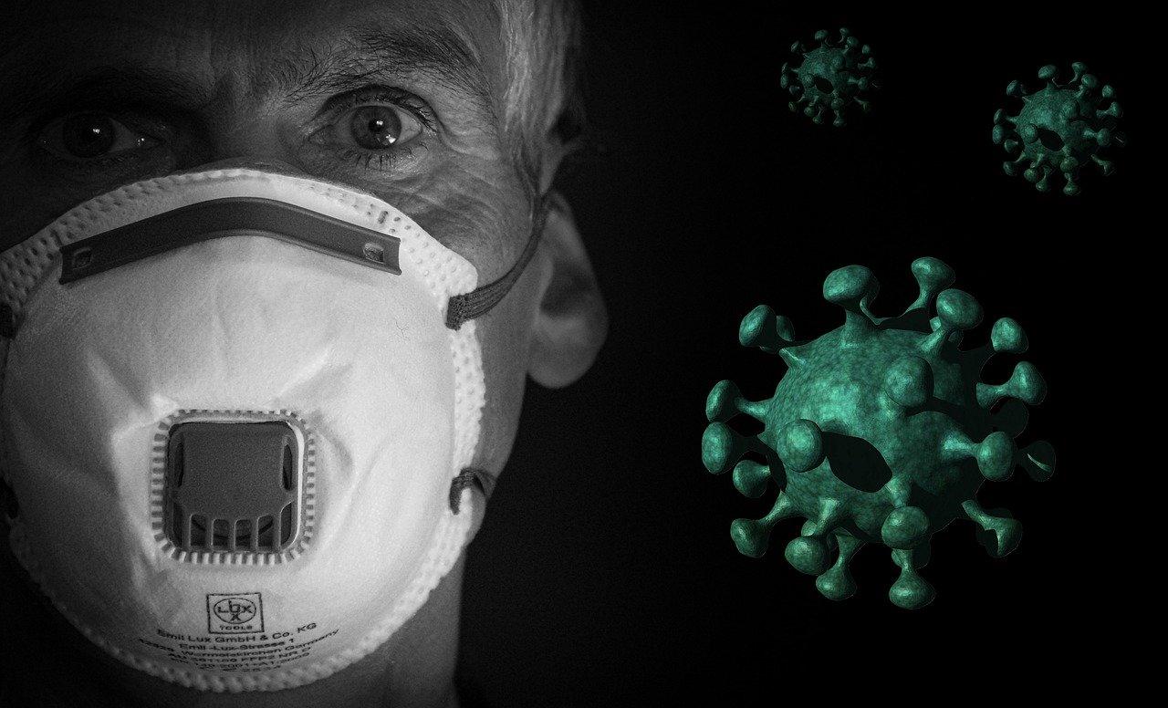 zakażony koronawirusem