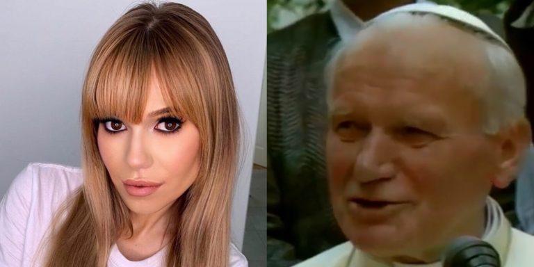 """TO łączyło Jana Pawła II z Dodą! """"Prawda wyszła na naw po latach.Papież był jej…"""""""
