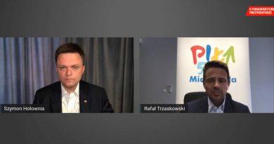 Spotkanie Trzaskowskiego z Hołownią. Sprawdź, o czym rozmawiali!