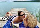 Refleksyjna Anita Sokołowska nad jeziorem. Podzieliła się poruszającymi słowami.