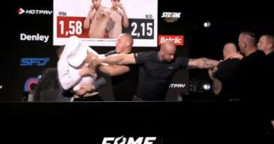 TO naprawdę stało się na konferencji Fame MMA! Wideo podbija sieć.