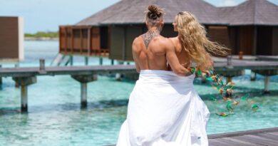 Pamela Stefanowicz z Fit Lovers na Malediwach. Prowokujący kostium!