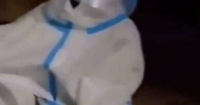 Szokujące nagranie z Chin! Samotny czterolatek w centrum covidowym! (VIDEO)